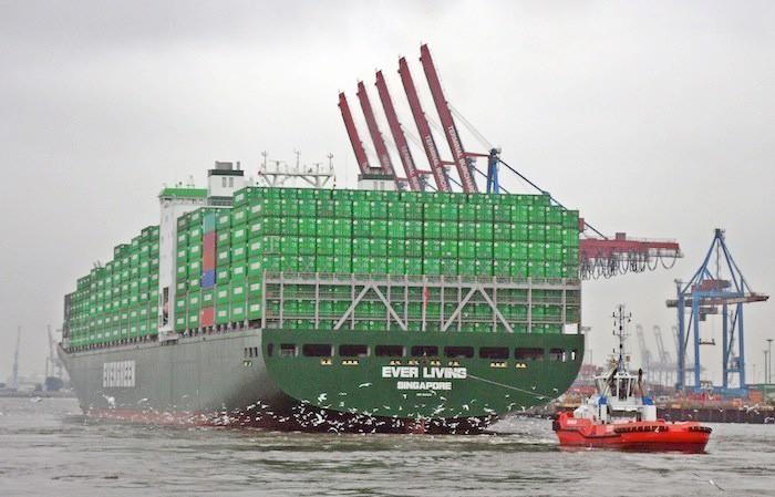 Evergreen заказал новых контейнеров на $40 млн