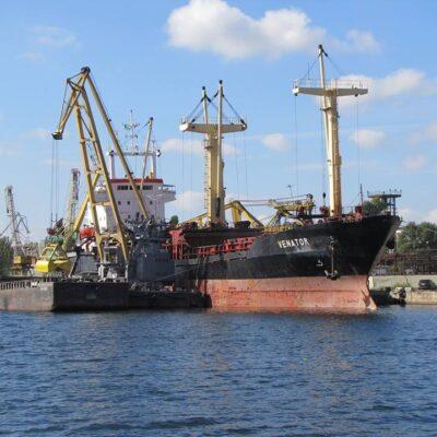 В I-III кварталах Херсонский порт сократил грузооборот на 20,8%