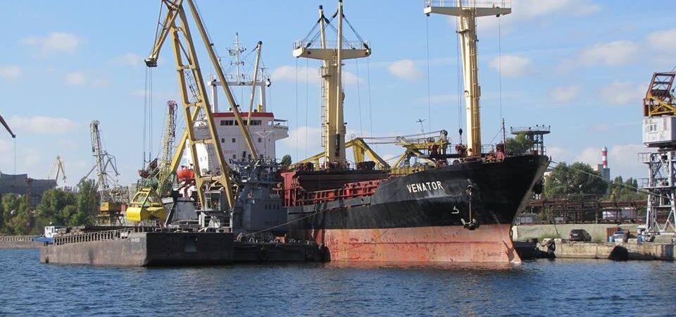 В январе-мае Херсонский порт сократил грузооборот на 14,2%