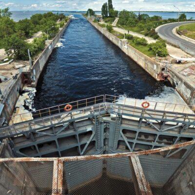 Кабмин предлагает выделить на ремонт шлюзов 39 млн грн в 2022 году
