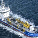 АМПУ задействовала земснаряд «Ингульский» в углублении акватории Белгород-Днестровского порта