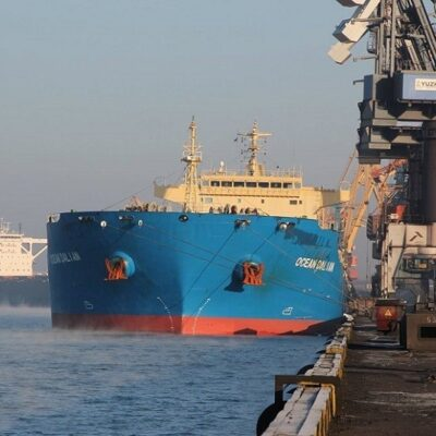 В июле госстивидор «Южный» обработал 1,5 млн тонн грузов