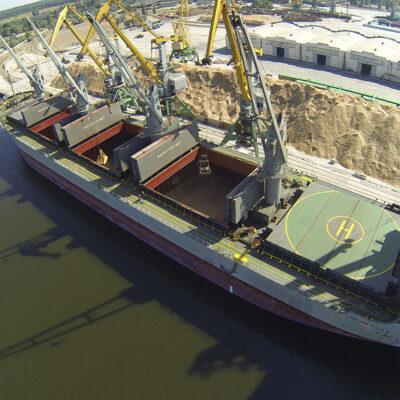 Порт «Ольвия» сократил грузооборот на 36% в январе-апреле