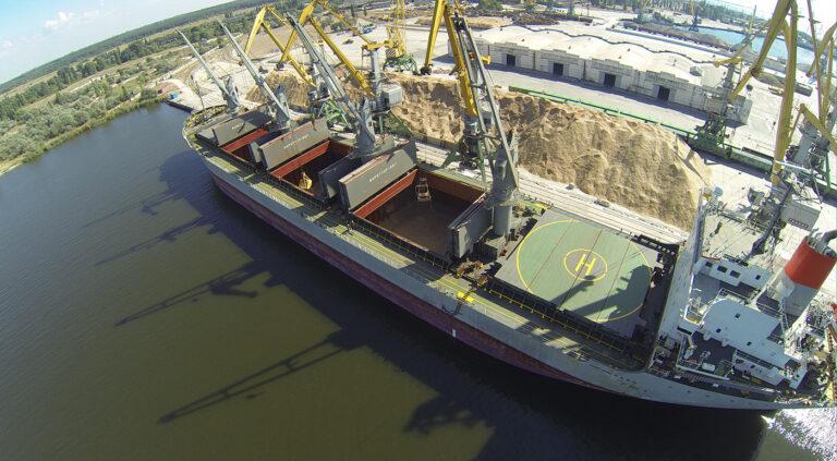 Порт «Ольвия» нарастил грузооборот на 26,3% в 2020 году