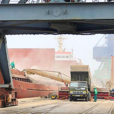 С начала сезона экспорт зерна составил 54,8 млн тонн