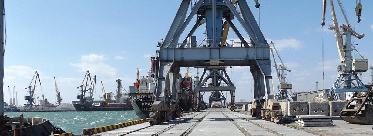 Порт Бердянск сократил грузооборот на 37% в первом полугодии