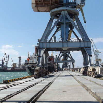 В январе-мае Бердянский порт увеличил грузооборот на 79,9%