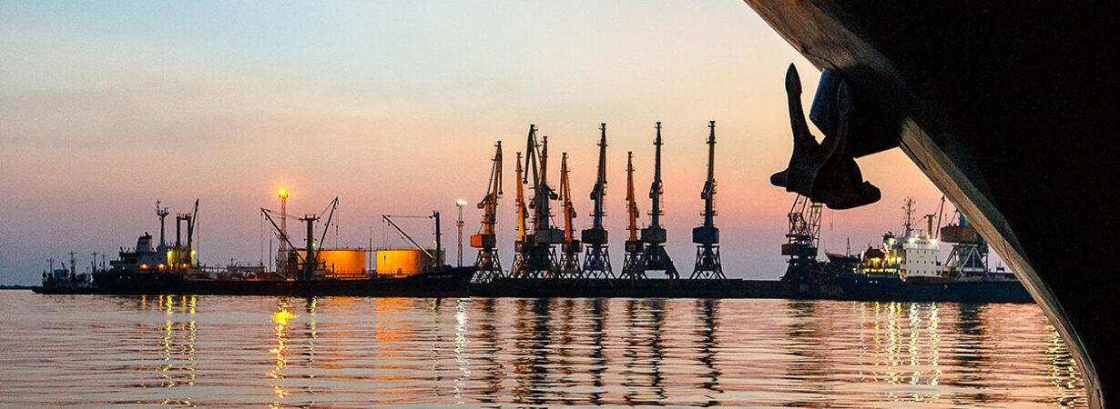 В Бердянском порту восстановлена объявленная осадка 7,9 метра