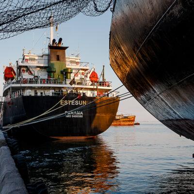 В первом полугодии морпорты сократили количество обработанных судов на 6,7%