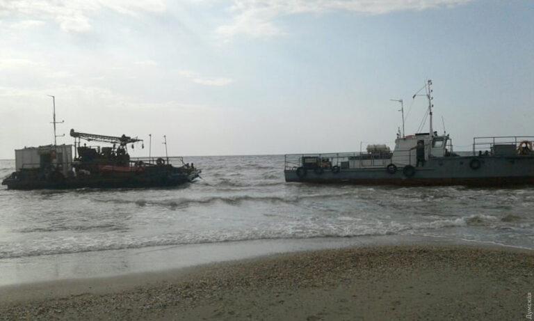 Судно принадлежит одесскому госпредприятию «ЧерноморНИИпроект»