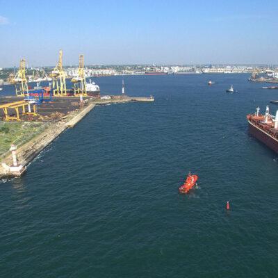 В первом полугодии порт «Черноморск» сократил грузооборот на 2,7%