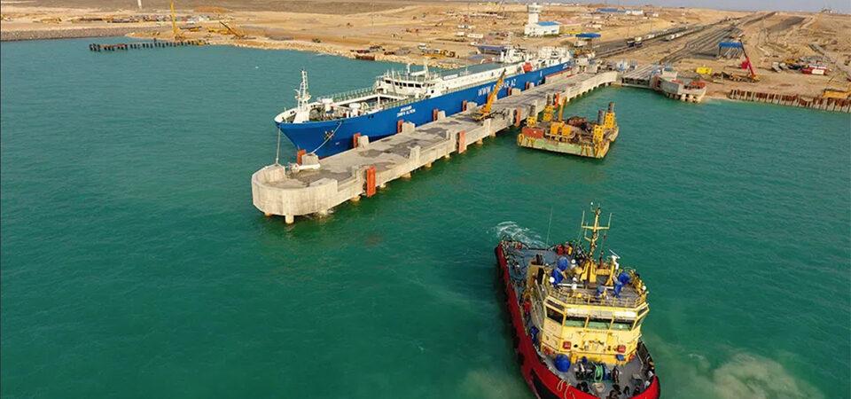 Каспийские порты Казахстана были загружены лишь на 20% в 2020 году