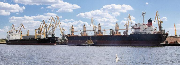 В январе-мае порт «Ольвия» увеличил грузооборот на 69,7%