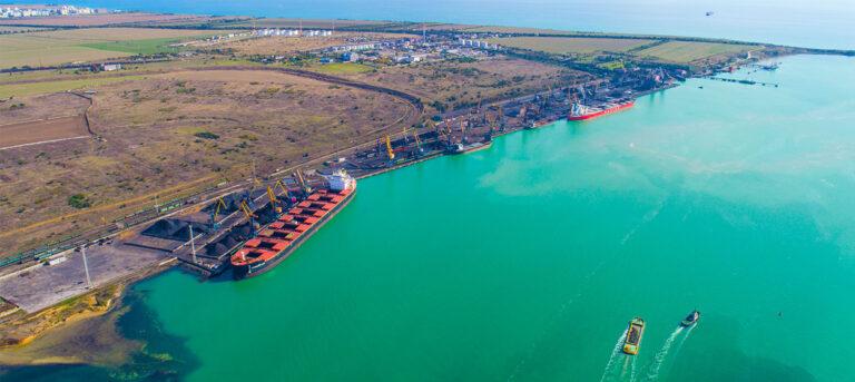 В январе-июле порт «Пивденный» увеличил грузооборот на 29,5%