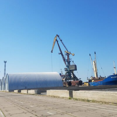 Ренийский порт установил рекорд месячной перевалки в августе