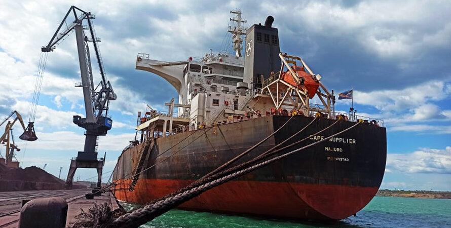 В январе-мае морпорты сократили количество обработанных судов на 5,3%