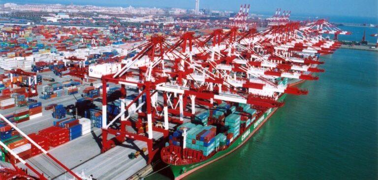 В январе-мае порт Шанхай сократил контейнерооборот на 7,5%