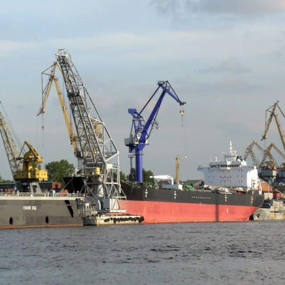 В январе-мае порт «Усть-Дунайск» сократил грузооборот в 3,4 раза