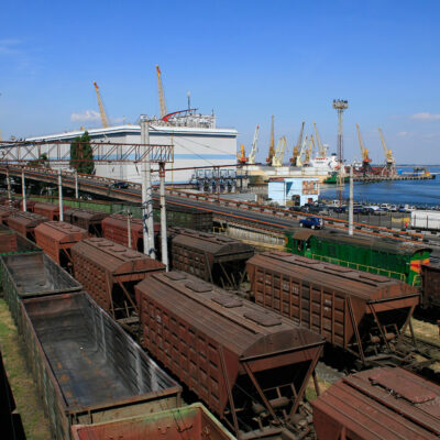 В январе-июле станция Одесса-Порт увеличила обработку вагонов на 18,4%