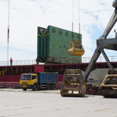 Бердянский порт впервые принял груз импортной сои