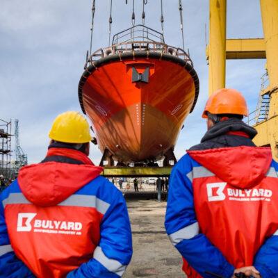 На болгарской верфи построили судно по украинскому проекту