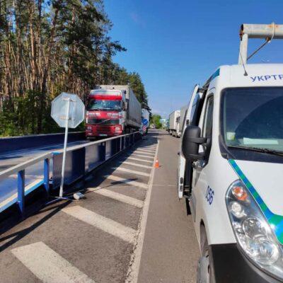 На украинских дорогах установят 25 комплексов для взвешивания в движении