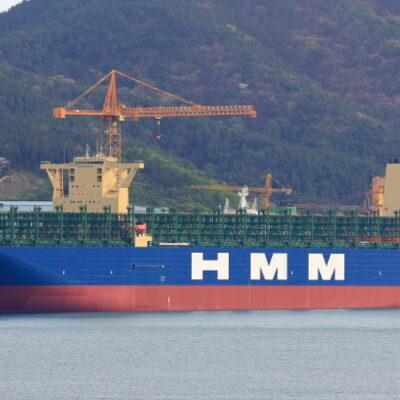 HMM получила второй контейнеровоз на 24 тыс. TEU