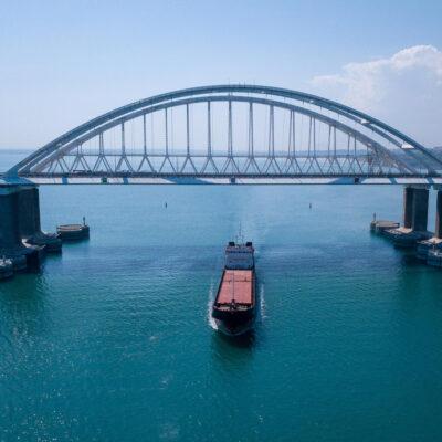 В октябре Россия снизила длительность задержки судов в Керченском проливе