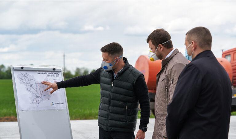 Реконструкция автодороги Н-14 «Александровка — Кропивницкий — Николаев» будет завершена в 2020 году