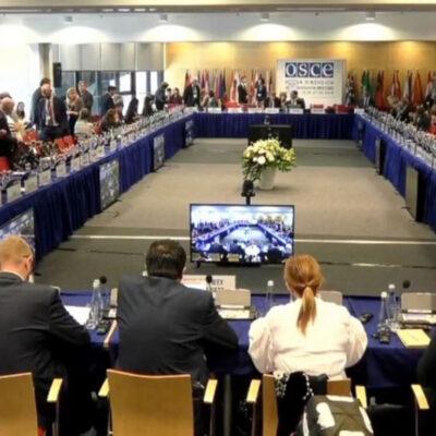 Украина вынесла на обсуждение в ОБСЕ ситуацию в Азово-Черноморском регионе