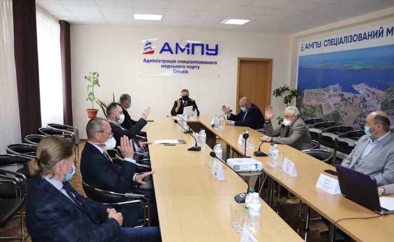 заседание Совета порта Ольвия