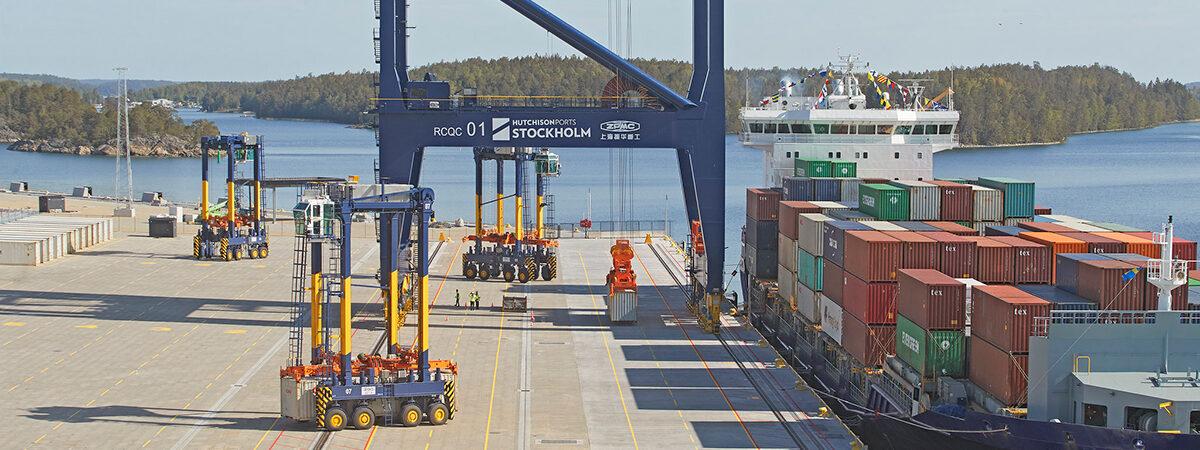 В Швеции открыли новый порт