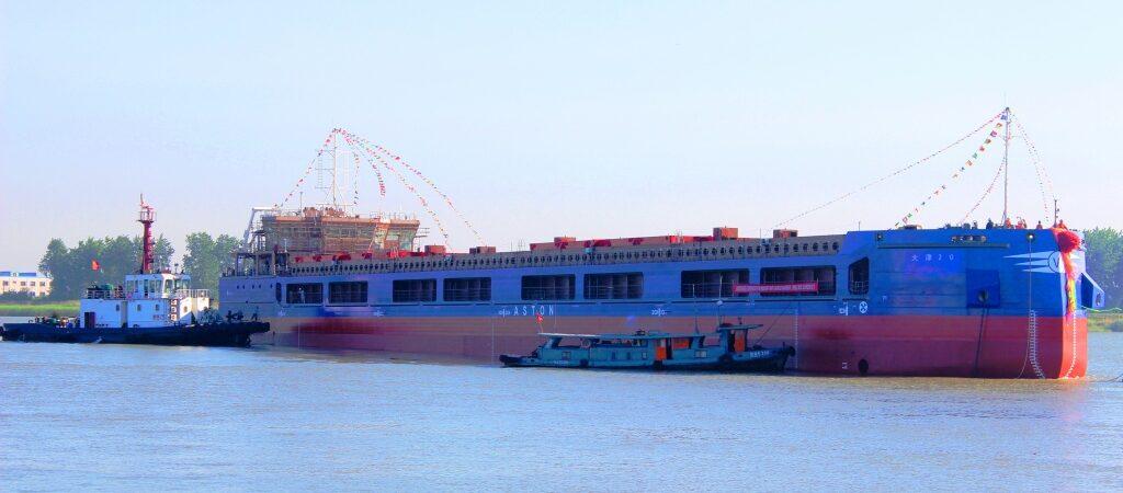 Дедвейт сухогруза составляет 8 тыс. тонн – максимально возможный размер для захода в донские порты.