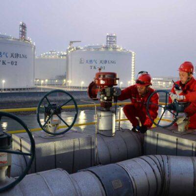 Порт Тяньцзинь стал лидером по перевалке СПГ в Китае