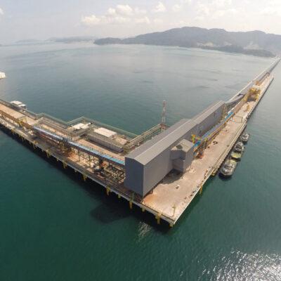 Vale возобновила работу железорудного морского хаба в Малайзии