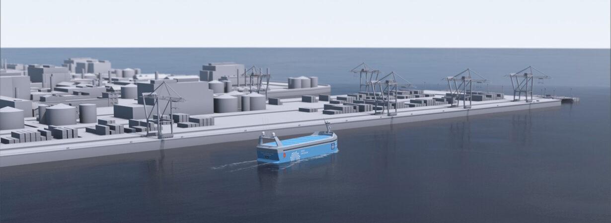 Автономный электрический фидерный контейнеровоз с нулевыми выбросами Yara Birkeland