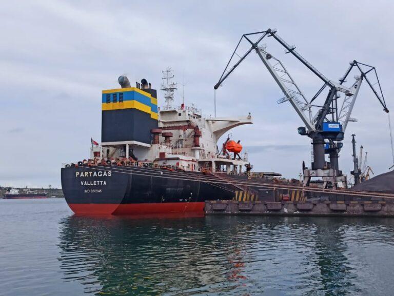 В январе-июле морпорты увеличили грузооборот на 7,3%