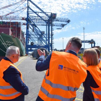 В январе-мае крупнейший контейнерный терминал Польши сократил контейнерооборот на 7,4%