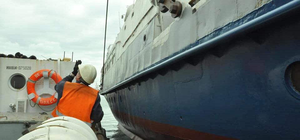 ГП «ОМТП» отремонтировало пассажирский теплоход «Генуя»