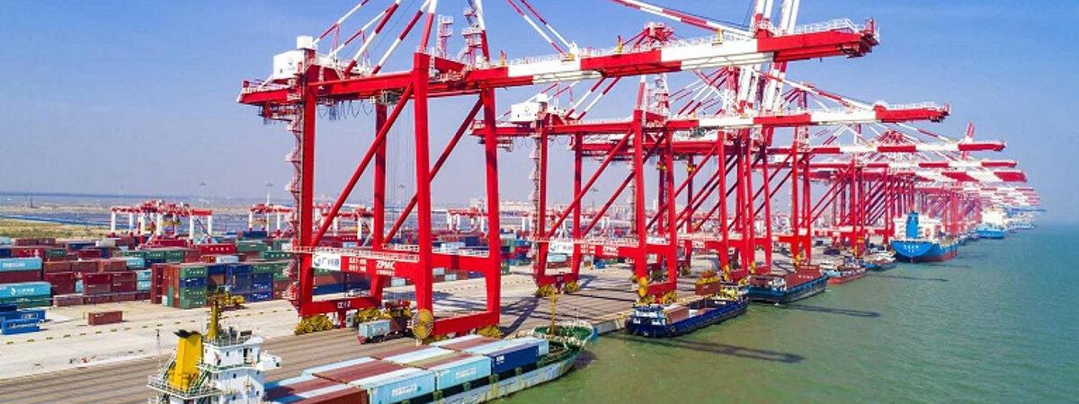 В мае порты Китая увеличили грузооборот на 4,4%
