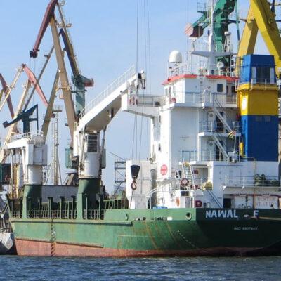 Порт Херсон сократил грузооборот на 26% в январе-мае