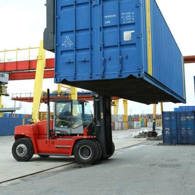 «Укрзализныця» увеличила перевозку контейнеров на 11% в 2020 году