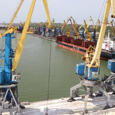 В мае госстивидор ММТП перевалил более 425 тыс. тонн грузов