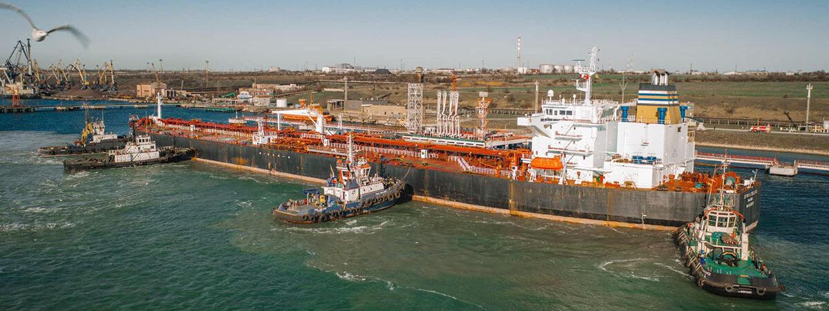 Нефтетерминал «Южный» принял пятый танкер с нефтью для Беларуси