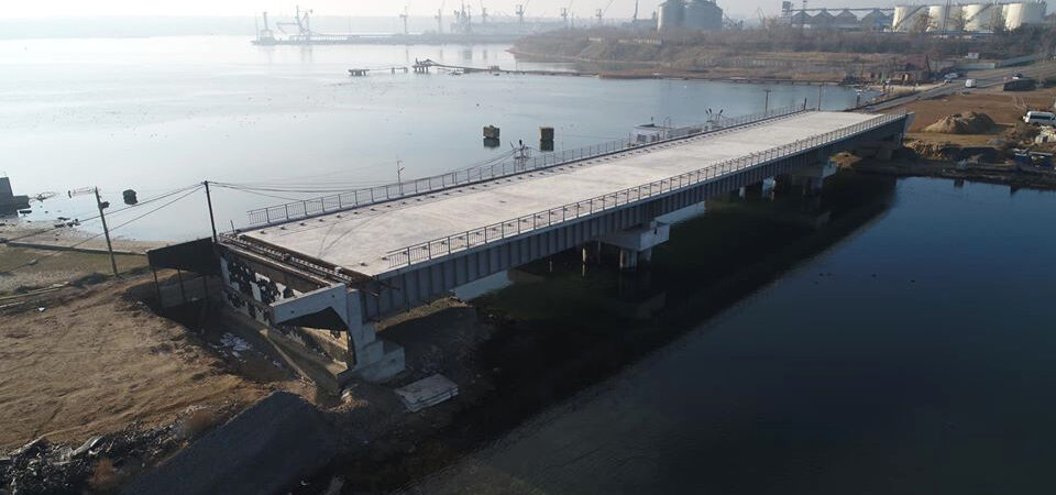 «Укравтодор» объявил тендер на достройку моста через Сухой лиман