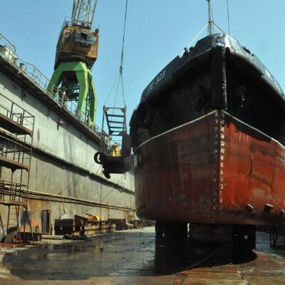 ГП «ОМТП» отремонтирует судно администрации порта «Пивденный»