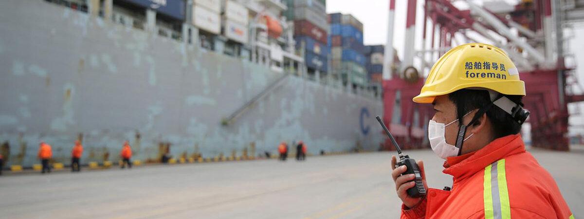 Порты Китая увеличили грузооборот на 13% в первом полугодии