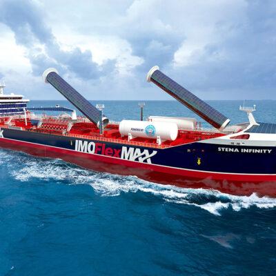 Stena Bulk представила прототип инновационного танкера-химовоза