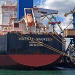 Кейпсайз дедвейтом 205 тыс. тонн доставил 135 тыс. тонн угля в порт «Пивденный»