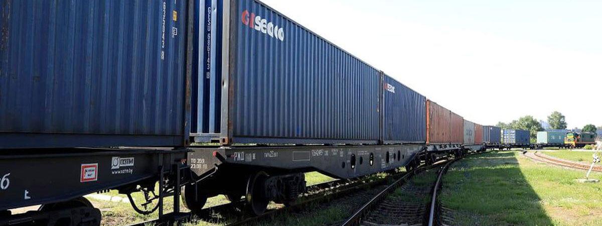 УЗ планирует принимать регулярные контейнерные поезда из Китая